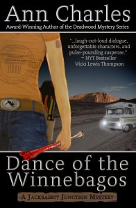 Dance of the Winnebagos, funny mystery novel