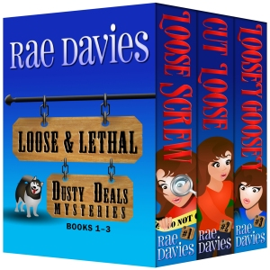 Loose & Lethal: Dusty Deals Mystery Series Box Set books 1 - 3