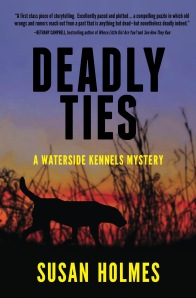 Deadly Ties Cozy dog mystery