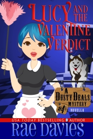 Lucy and the Valentine Verdict, comic cozy mystery novella