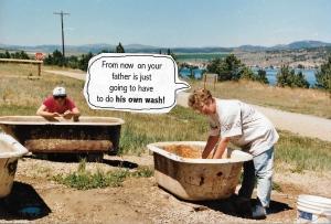 sapphire mining bathtub