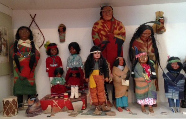 Skookum and other Native American Dolls